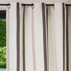 Tenda a righe in cotone con occhielli 150 x 250 cm | Maisons du Monde