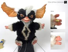 """Subtle restoration of the foam latex hands of this great """"Mohawk"""" mogwai puppet used in Gremlins 2, the New Batch"""