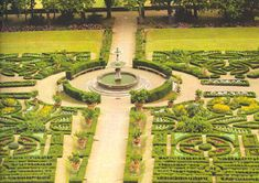 garden at the Villa Medici la Petraia, Florence, 15th cent.
