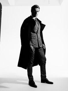 Luca Argentero, Photo by Rankin, Art & Styling Alessandro Calascibetta Total Look Corneliani