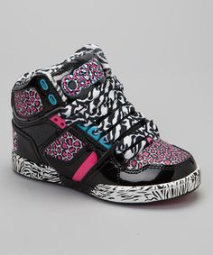 Osiris Shoes Pink   Cyan NYC 83 Hi-Top Sneaker - Kids 1c68b912288
