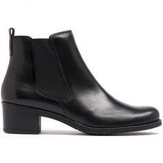 WATERFALL- Stay on trend with these sleek and stylish gusset boots. They feature a comfortable block heel and pull tag to help you easily slip into them. Black Ankle Boots, Cropped Pants, Block Heels, Chelsea Boots, Waterfall, Fancy, Legs, Star, Stylish