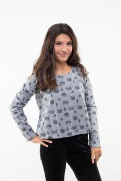 MEVISTELANONA Blouse, Long Sleeve, Sleeves, Tops, Women, Fashion, Moda, Full Sleeves, Women's