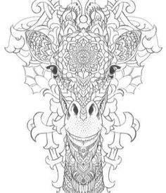 Giraffe Mandala Coloring Pages from Animal Coloring Pages category. Printable coloring pictures for kids that you could print out and color. Check out our collection and printing the coloring pictures for free. Giraffe Coloring Pages, Mandala Coloring Pages, Coloring Sheets, Free Coloring Pages, Coloring Books, Coloring Pages For Grown Ups, Adult Coloring Book Pages, Printable Coloring Pages, Mandalas Painting