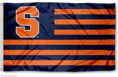 Syracuse University Orange Striped Flag, We want..... YOU!