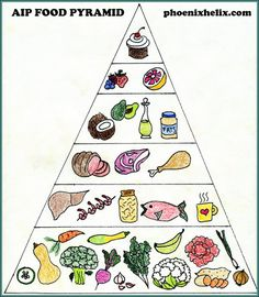 AIP Food Pyramid   Phoenix Helix