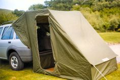 Caranex car tent attachment.  Would be great for my Jeep!