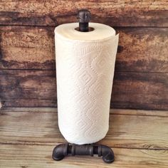 Industrial Towel Holder Black Pipe Paper Towel by RehabStyle, $48.00