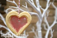 Valentine's Day Stained Glass Cookie Recipe