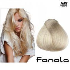 Vopsea de par blond super platinat perlat 11.2 Fanola