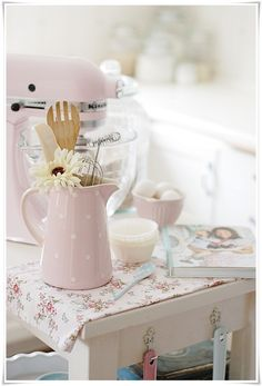 All Things Shabby and Beautiful blog- baking
