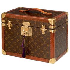 Louis Vuitton jewellery case | From a unique collection of antique and modern boxes at http://www.1stdibs.com/furniture/more-furniture-collectibles/boxes/