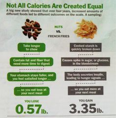 From Time magazine, September 12th 2011 issue    Just stay away from white potatoes and fried foods.