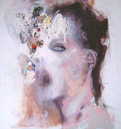 "Saatchi Online Artist Jesùs Leguizamo; Painting, ""Face "" #art"