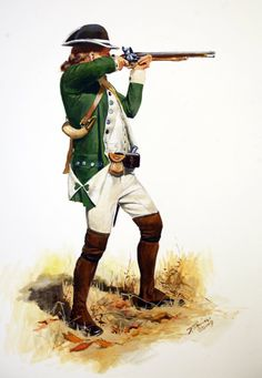 Private of the Royal Fencible Americans 1776-1777 a Loyalist Regiment