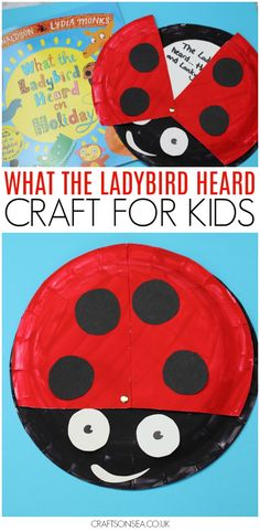 This What The Ladybird Heard craft is perfect as a literacy activity for kids but it can be easily adapted for an early years activity for kids too. This paper plate craft is perfect for kids who love Julia Donaldson and it's cheap to make too! Insect Activities, Eyfs Activities, Spring Activities, Craft Activities For Kids, Book Activities, Preschool Activities, Crafts For Kids, Nursery Class Activities, Toddler Crafts