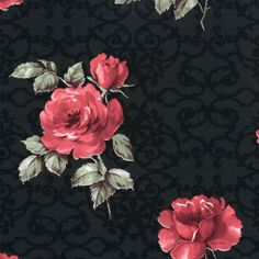Pleasant Black  Red R1524 by Walls Republic.