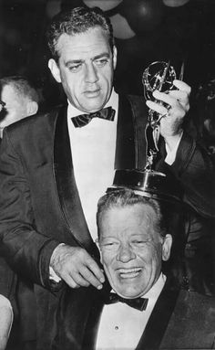 Raymond Burr of Perry Mason