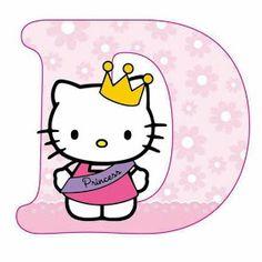Escuela infantil castillo de Blanca: ALFABETO HELLO KITTY Hallo Kitty, Hello Kitty Art, Hello Kitty Themes, Hello Kitty My Melody, Hello Kitty Birthday, Cat Birthday, Hello Kitty Pictures, Kitty Images, Hello Kitty Backgrounds