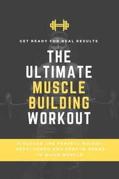 Discover the perfect sets, rep range, weight, rest period, you name it, in order tomaxiise muscle growth. In this article we go into deep detail as to what the research tells us is the optimum training protocols we need to implement if your main goal is to build muscle. Working Against Gravity, Muscle Hypertrophy, Muscle Building Workouts, Personal Goals, Group Fitness, Boost Metabolism, Healthy Women, Transformation Body, How To Stay Motivated