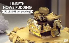 It's a pudding! It has a diamond on top (not edible I hope) and is of course, coated in gold, oh, and it's made from Belgian chocolate. Two Carat Diamond, Most Expensive Food, Belgian Chocolate, Chocolate Gold, Faberge Eggs, Cooking Ingredients, Taste Buds, Food Items, Stuffed Mushrooms