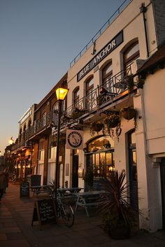 One of my favourite places, the Blue Anchor in Hammersmith - check out the Dove down the road too. Pub Crawl, Best Cities, How Beautiful, Anchor, Highlights, London, City, World, Places