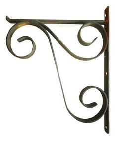 Resultado de imagen para mão francesa ferro Wrought Iron Decor, Wrought Iron Gates, Metal Shelf Brackets, Metal Plant Stand, House Plants Decor, Steel Art, Iron Art, Steel Furniture, Metal Crafts