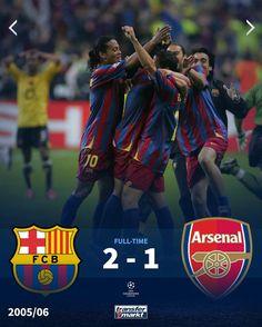 #championsleague 2005-2006 Fc Barcelona, Champions League, Arsenal, Soccer, Movies, Movie Posters, Futbol, Films, European Football