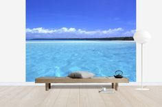 Turquoise Lagoon - Wall Mural & Photo Wallpaper - Photowall