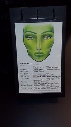 Elphaba Make-Up from MAC Cosmetics                                                                                                                                                                                 More