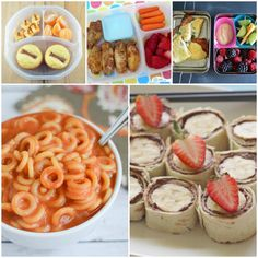 100 School Lunches Ideas the Kids Will Actually Eat - One Crazy House Kids Packed Lunch, Kids Lunch For School, Healthy Lunches For Kids, Quick Snacks, School Snacks, Work Lunches, Kid Snacks, School Ideas, Eat Lunch