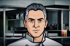 Anthony Bourdain's Cameo on Archer