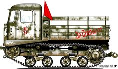 Engines of the Red Army in WW2 - Medium Tractor STZ-5