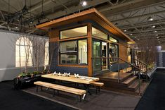 Altius RSA (Rapid Systems Architecture), the makers of MiniHomes recently unveiled their newest prefab housing model, the Solo 40. The company has been designing and manufacturing eco-friendly and sustainable prefab homes since 2002, and their latest model offers a great balance between wide market appeal and price. The Solo 40 is longer, wider, more spacious, and resembles conventional homes in its layout.