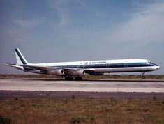 Eastern Airlines plane circa 1971