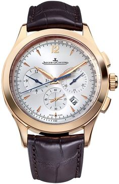 @jlcwatches Master Chronograph Rose Gold #add-content #bezel-fixed #bracelet-strap-leather #brand-jaeger-lecoultre #case-depth-12-6mm #case-material-rose-gold #case-width-40mm #chronograph-yes #date-yes #delivery-timescale-1-2-weeks #dial-colour-silver #gender-mens #luxury #movement-automatic #new-product-yes #official-stockist-for-jaeger-lecoultre-watches #packaging-jaeger-lecoultre-watch-packaging #style-dress #subcat-master #supplier-model-no-q1532520 #warranty-jaeger-lecoultre...