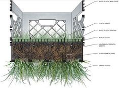 Recycled Milk Crates Transformed Into Living Pavilion: Behin + Ha : TreeHugger