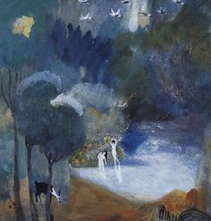 Fairy Lake, 1905 by Martiros Saryan (Armenian, 1880–1972)