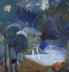 Fairy Lake, 1905 by Martiros Saryan (Armenian, 1880–1972)