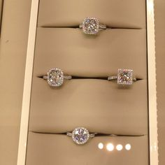 Cartier. Oh my Goodness love the one middle left!!! That shape is gorgeous