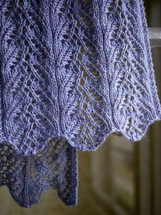 this week's installment in the pre-christmas pattern flurry is a pretty lace scarf in a downy soft yarn with all-winter appeal. i won't be bashful about it—i love the way this one turne…