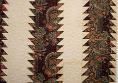 Tree Everlasting Quilt: Circa 1850; Pennsylvania