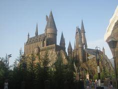 Universal Studio - Island of Adventure - Hogwarts Castle, Orlando,Florida