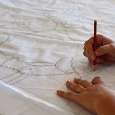 How to Make an Art Quilt — Ruth de Vos: Art Quilting Tutorials, Quilting Projects, Art Quilting, Quilting Tips, Fabric Art, Fabric Crafts, Book Crafts, Craft Books, Felt Dolls