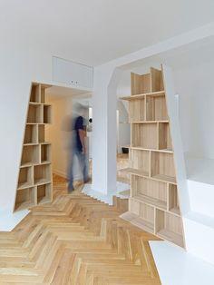Arsenal Flat  / h2o architectes | ArchDaily