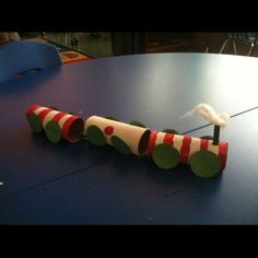 Our trains for polar express day =)
