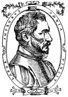 FRANCE Ambroise Paré v. 1509 - Paris, 1590), médecin et chirurgien français,  Ambroise Paré est le chirurgien des champs de bataille, Il est l'inventeur de nombreux instruments. La généralisation  de l'usage des armes à feu rend les chirurgiens familiers avec des plaies d'une sorte nouvelle, que l'on cautérise au fer rouge ou à l'huile bouillante au risque de tuer le blessé. Paré met au point la ligature des artères, qu'il substitue à la cautérisation, dans les amputations.
