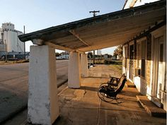 image of oklahoma ghost towns | Beautifully Haunting Picture of Route 66 Ghost Town