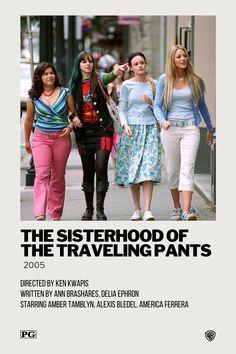 Iconic Movie Posters, Minimal Movie Posters, Iconic Movies, Film Posters, Film Polaroid, Teen Movies, Good Movies, Movie Tv, Sisterhood Of Traveling Pants