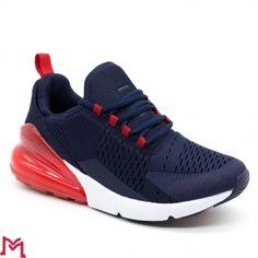 Pantofi Sport Barbati 8019 Navy-Red Start Fashion